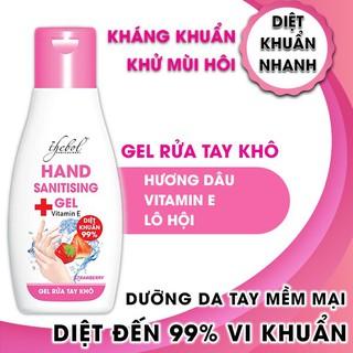 Nước rửa tay khô diệt khuẩn hương dâu Thebol 100ml - RT001_1_2_1 thumbnail