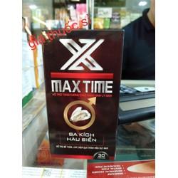 Viên Uống MAX TIME Hỗ Trợ Sức Khoẻ Nam Giới