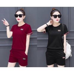 Set áo và quần ngắn thun tysi size M, L, XL, 2XL cao cấp