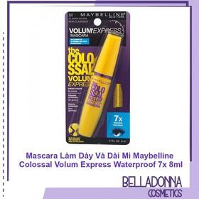 Mascara Làm Dày Và Dài Mi Maybeline.US Colossal Volum Express Waterproof 7x 8ml - Maybelline.mascara