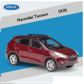 Mô hình xe ô tô mini Huyndai Tucson IX35 tỉ lệ 1:36 bằng kim loại đồ chơi trẻ em - Tucson IX 1:36