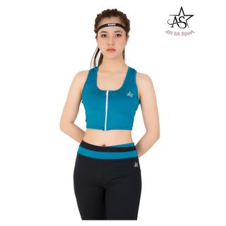 Bộ thể thao nữ lửng crotop dây kéo AN SA - DL14 thumbnail