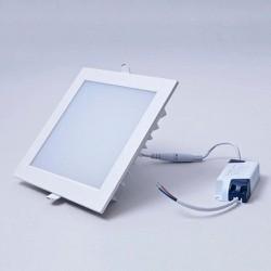 COMBO 10 đèn led âm trần 9w vuông ánh sáng trắng,vàng
