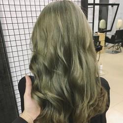 thuốc nhuộm tóc snukia màu rêu khói
