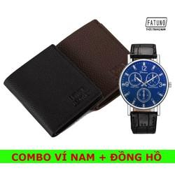[12h Miễn ship 0Đ][Được xem hàng- bao đẹp] Mua ví da tặng đồng hồ đeo tay chất lượng cao