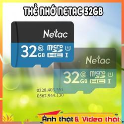 MIỄN PHÍ VẬN CHUYỂN / Thiết bị lưu trữ / THẺ NHỚ NETAC 32GB CHÍNH HÃNG / ẢNH VÀ VIDEO THẬT SHOP TỰ QUAY / Đầu đọc thẻ nhớ. Thiết bị thẻ nhớ. Thẻ ghi nhớ. Phụ kiện lưu trữ. Thẻ lưu dữ liệu