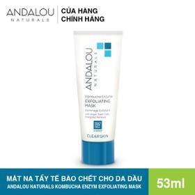 [Freeship 50K] Mặt Nạ Tẩy Tế Bào Chết Cho Da Dầu Andalou Naturals Kombucha Enzyme Exfoliating Mask 53ml - 25161