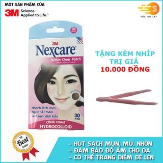 Hộp 30 miếng phim dán trị mụn, ngăn sẹo thâm Nexcare 3M TM-30M - TM-30M thumbnail