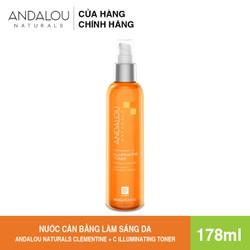 [Freeship 50K] Nước Cân Bằng Làm Sáng Da Andalou Naturals Clementine + C Illuminating Toner 178ml