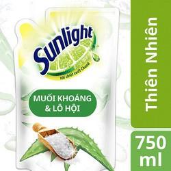 Nước Rửa Chén Sunlight Thiên Nhiên Túi 750 ml