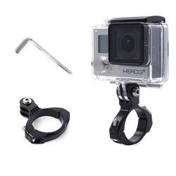 Khung kim loại gắn camera hành động GoPro vào ghi đông xe  - Mẫu 2