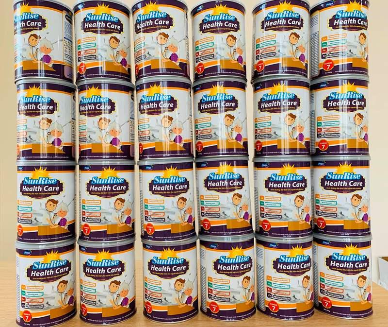 Combo 2 hộp sữa dành cho người tiểu đường SunRise - 400Gr - Hàng Công ty Việt Nam - Heath Care