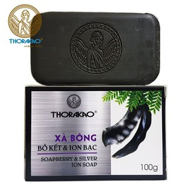 Xà bông bồ kết và ion bạc Thorakao 100g - pzt51