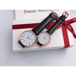 Đồng hồ đôi nam nữ dây da cao cấp - đồng hồ đôi cao cấp 11 3 thumbnail