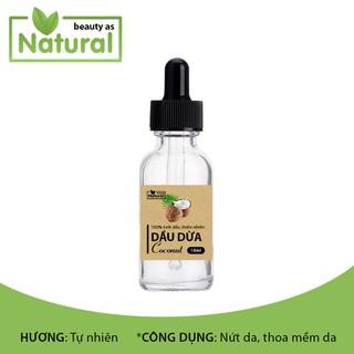 Tinh dầu dừa nguyên chất 10ml chăm sóc da, tóc, dưỡng trắng da - TD-Dua thumbnail