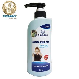 Nước rửa tay làm sạch da và kháng khuẩn Thorakao 500ml - pzt49 thumbnail