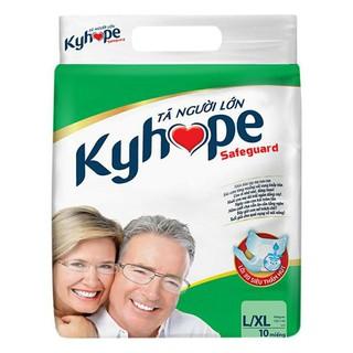 Tã dán người lớn Kyhope size L- XL 10 miếng - kyhope L XL thumbnail