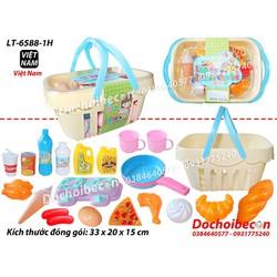 Giỏ đồ chơi nấu ăn LT-6588-1H - Hàng Việt Nam - 20 món