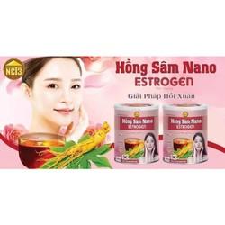 Hồng Sâm NaNo NTC3- Giải pháp hồi xuân - Dành cho phụ nữ bị nám, sạm da.