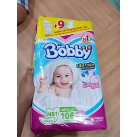 Tã dán sơ sinh bobby newbon 1(tặng kèm 9 miếng tã dán) - ta dan