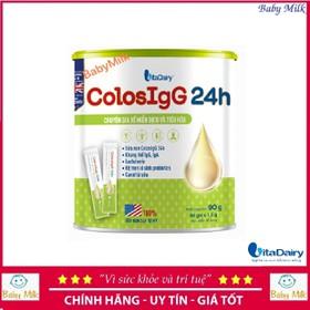 Sữa non ColosIgG 24h 90G 60 gói x 1.5g - ColosIgG 24h 90G