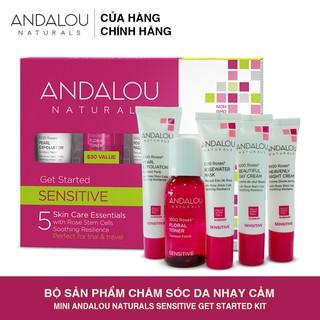 [Freeship 50K] Bộ Sản Phẩm Chăm So c Da Nha y Ca m Mini Andalou Naturals Sensitive Get Started Kit - 25530 thumbnail