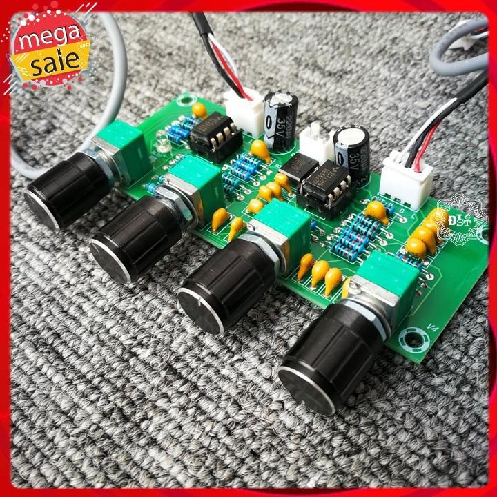Mạch điều chỉnh âm sắc Bass Treble NE5532 12V AC  A901
