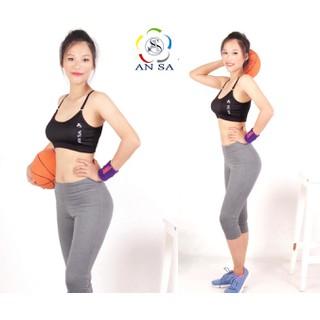Quần lửng legging thể thao nữ cao cấp - QL1 thumbnail