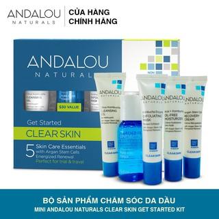 [Freeship 50K]Bộ Sản Phẩm Chăm So c Da Dâ u Mini Andalou Naturals Clear Skin Get Started Kit - 25520 thumbnail