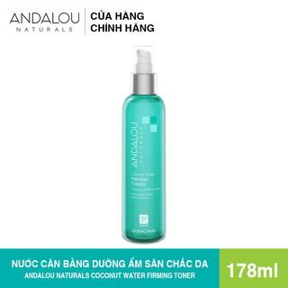 [Freeship 50K] Nươ c Cân Bă ng La m Săn Chă c Da Dươ ng m Chuyên Sâu Andalou Naturals Coconut Water Firming Toner 178ml - 25610 thumbnail