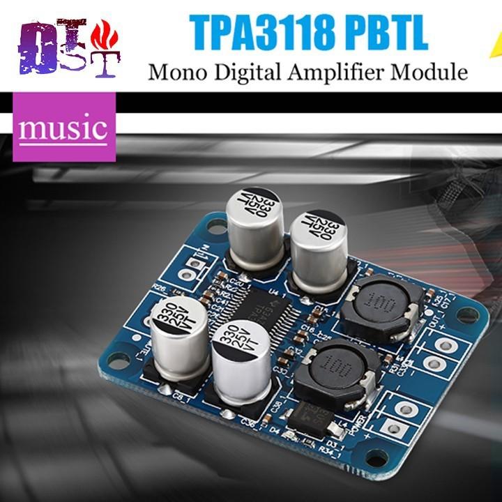 Mạch tăng âm TPA3118 Mono 60W