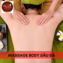 [Evoucher_Quận Phú Nhuận_HCM] Massage Body Dầu Đá Tại Mầm Gạo Spa