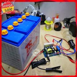 Mạch kíck điện tử băm xung 12v ra 0-700v 300w kèm cò bóp
