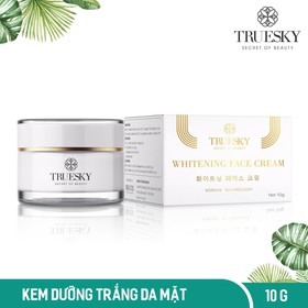 Kem dưỡng trắng da mặt Truesky chiết xuất ngọc trai hồng y 10g - Whitening Face Cream - TRUESKY_FACE10G