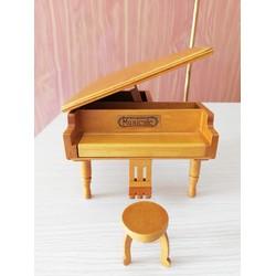 Mô Hình Piano Grand Gỗ Cao Cấp