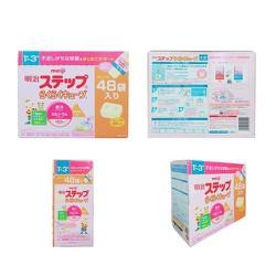 Sữa Meiji Số 1-3 dạng thanh dành cho trẻ từ 1-3 tuổi 48 thanh