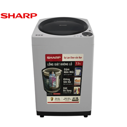 Máy giặt lồng đứng Sharp 7.2kg ES-U72GV-H