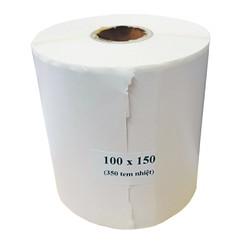 Giấy In Đơn Hàng Các Sàn Thương Mại Điện Tử Khổ A6 100x150mm - Cuộn 350 Tem