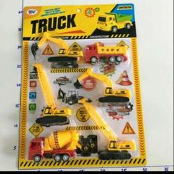 Đồ chơi trẻ em set xe công trình 6c ms 333-85 phù hợp cho 3 tuổi 5 tuổi trở lên...