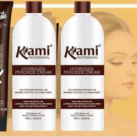 Trợ nhuộm tóc Kami 1000ml - BLS091