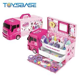 Đồ chơi xe tải bán kem - đồ trang điểm 2 trong 1 cho bé - XBB11559 thumbnail