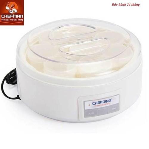 [SIÊU SALE] Máy làm sữa chua Chefman 8 cốc -CM 302N