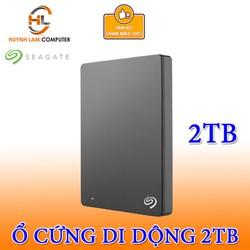 Ổ Cứng gắn ngoài 2TB Seagate Backup Plus Slim USB 3.0 Chính hãng DGW Phân phối