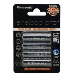 Bộ 4 pin sạc AA Panasonic Eneloop PRO 2550mAh JAPAN
