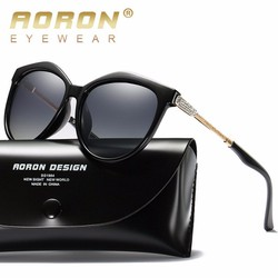 Mắt kính Nữ phân cực AORON thời trang Italia 2020, mắt kính phân cực tròng kính polarized chống tia UV400 hiệu quả