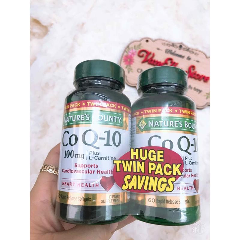 Co Q 10 100mg – Bổ trợ tim mạch huyết áp – coq10