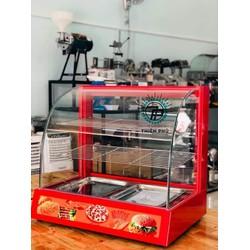 Tủ trưng bày và giữ nóng thực phẩm - TPTB- KC