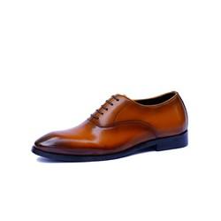 Giày Tây Oxford SVT Patina Nâu