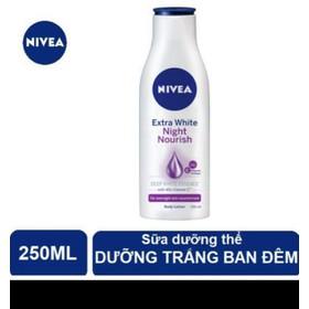 Sữa dưỡng da Nivea giúp săn da dưỡng trắng 250ml - nivea