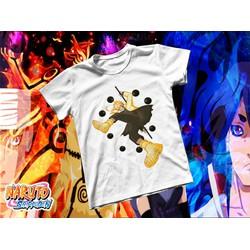Áo thun Cotton Unisex - Anime - Naruto - Naruto lục đạo tiên thuật